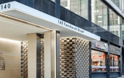 Platinum wins at 140 Fenchurch Street